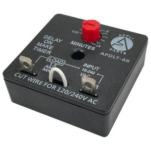Appli Parts Condensador Capacitor de ventilador 3.5 mfd (microfaradios) uf 450VAC con 2 cables compatible con cualquier marca de igual capacitancia 4.7cm Ancho 1.8cm Prof 3.7cm Alto CAP-3.5-450