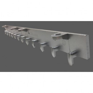 Appli Parts Condensador Capacitor de ventilador 1.5 mfd (microfaradios) uf 450VAC con conectores compatible con cualquier marca de igual capacitancia 3.4cm Ancho 1.4cm Prof 3.2cm Alto CAP-1.5-450